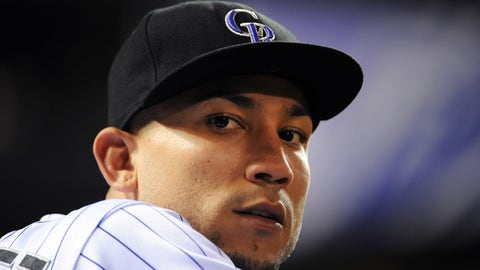 Outfield: Carlos Gonzalez, Colorado Rockies