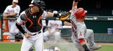 Angels hit break in last place after 4-2 loss to Orioles