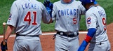 Bryant leads Cubs to 6-5 win against Pirates