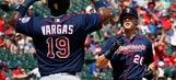 Grand time for Twins, go into break with 15-5 win at Rangers