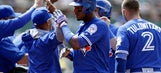 Donaldson's hit in 9th helps Blue Jays avoid sweep by A's
