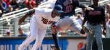 Indians' Gomes could miss 2 months with separated shoulder