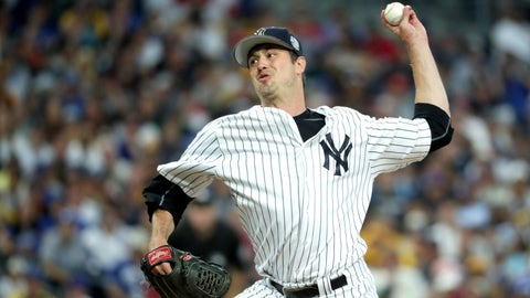 Relief pitcher: Andrew Miller, New York Yankees