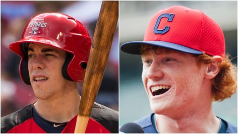 Bradley Zimmer and Clint Frazier - OF - Cleveland Indians