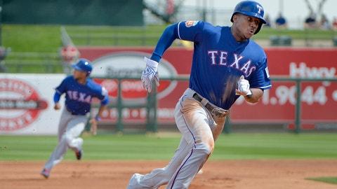 Lewis Brinson - CF - Texas Rangers