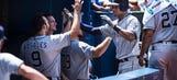 Padres hit 3 HRs to extend streak, beat Blue Jays 8-4