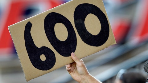 3. Alex Rodriguez's 600th home run
