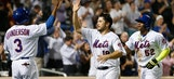 Johnson's double send Mets to 5-2 win over Marlins