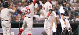Boston Red Sox in a tight race for the AL East division title