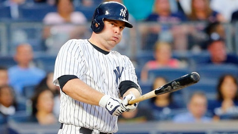 Brian McCann, C, New York Yankees
