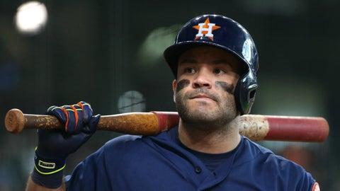 AL: Jose Altuve, 2B, Astros