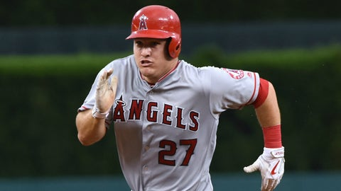 AL: Mike Trout, CF, Angels