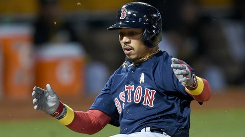 AL MVP: Mookie Betts, Boston Red Sox