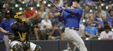 Brewers cool of Cubs, get 5 runs in 1st in 12-5 rout