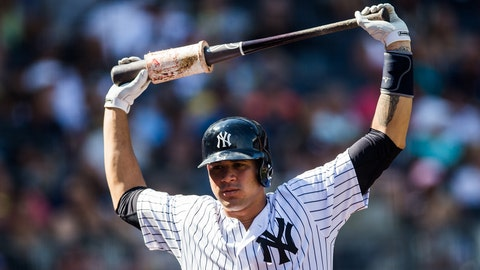 AL: Gary Sanchez, C, New York Yankees