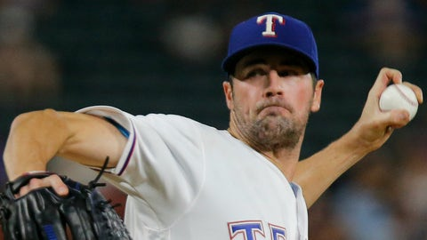 AL: Cole Hamels, Rangers