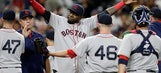 Red Sox beat Padres 7-2 to take over 1st in AL East