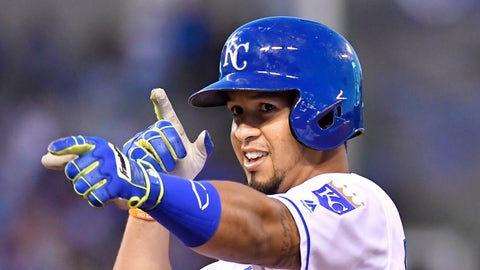 Royals: 3B Cheslor Cuthbert