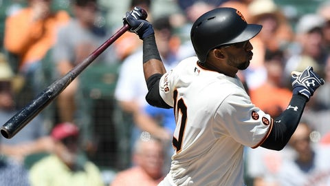 Giants: 3B Eduardo Nunez
