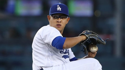 Dodgers: LHP Julio Urias