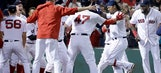 Ramirez's homer caps five-run 9th, Red Sox beat Yankees 7-5