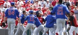 Cubs lose to Brewers but clinch NL Central on Cards loss