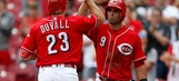 Taillon gets 1st RBI, Pirates beat Reds 10-4 in DH opener