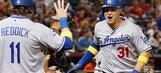 Stewart, Dodgers bullpen beat Diamondbacks