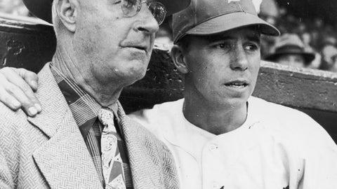Burt Shotton was Dodgers manager