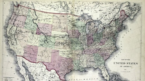 There were only 48 states in the U.S.A. in 1950