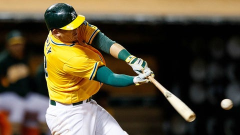 Ryon Healy, 3B, Athletics