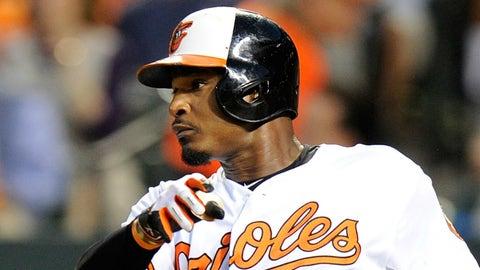 Adam Jones: Baltimore Orioles, 2008 (9 qualifying seasons)