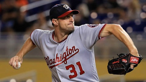 Max Scherzer already is in beast mode