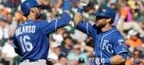 Royals win 12-9, knock Tigers 1½ behind wild card