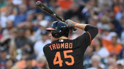 Looking for a long-term commitment: Mark Trumbo, Orioles