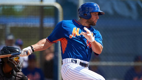 Result of Tim Tebow's first at-bat in the Arizona Fall League