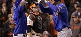 Cubs, trying to sweep NLDS, tied 5-5 with Giants in extras
