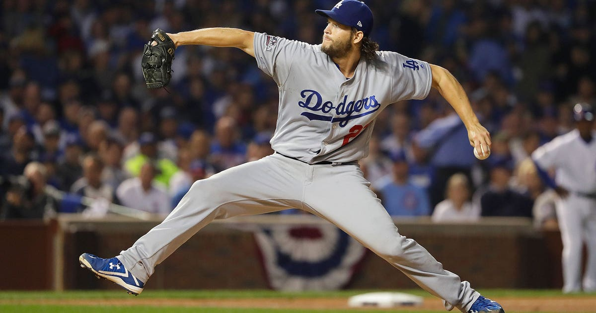 fab6807d7 Clayton Kershaw dominates Cubs as Dodgers even up NLCS | FOX Sports