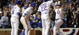Montero's PH slam lifts Cubs over Dodgers 8-4 in NLCS opener