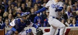 Kershaw struggles; Dodgers search for 1st title since 1988