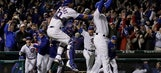 The Latest: Cubs players thank fans after NLCS victory