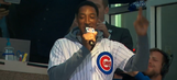 Scottie Pippen struggles mightily with 'Take me out to the ball game' at Wrigley