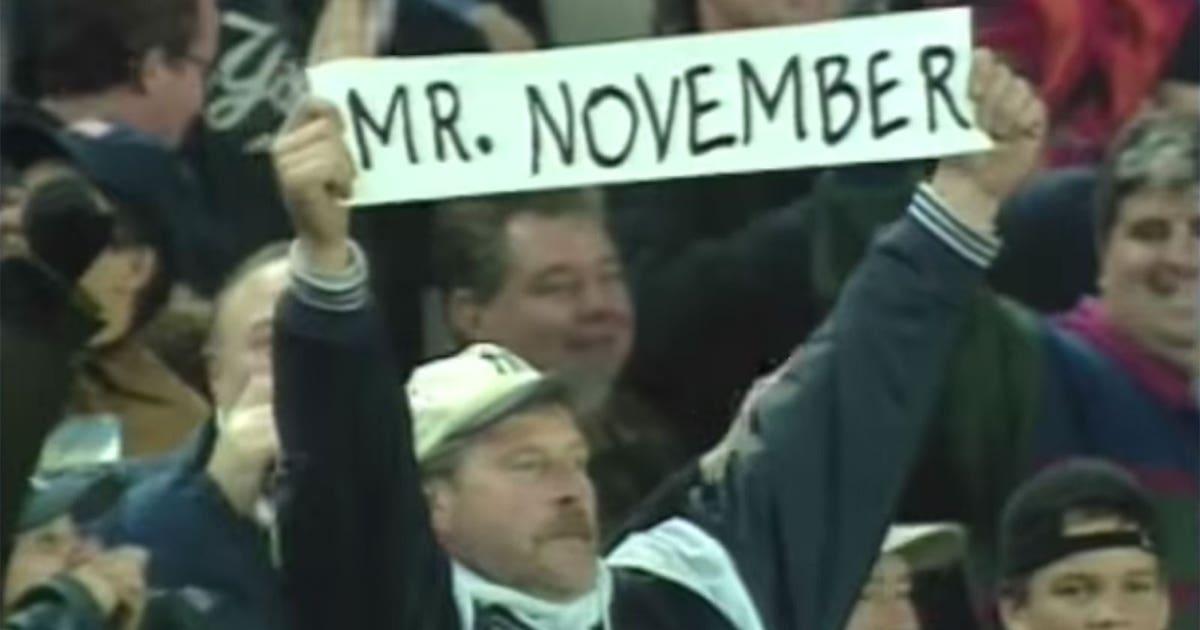 Derek Jeter Mr November