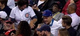Die-hard Cubs fan sitting with Bill Murray at World Series says they 'really hit it off!'