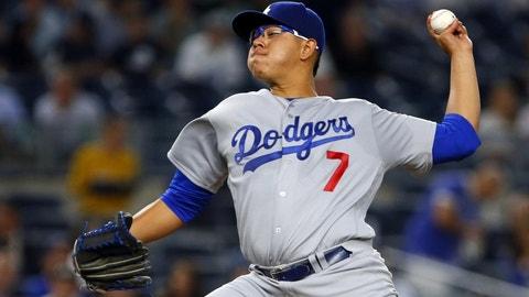 Julio Urias – Dodgers – SP