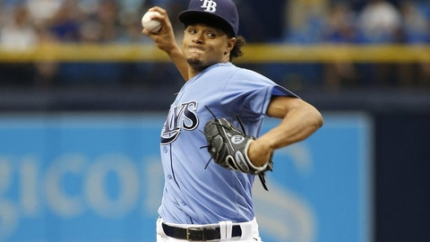 Rays swap another starting pitcher