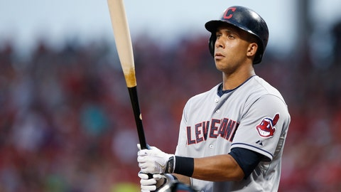 Brantley leads Indians over Astros