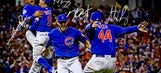 Limited Edition World Series Champions Autographed Celebration Photograph