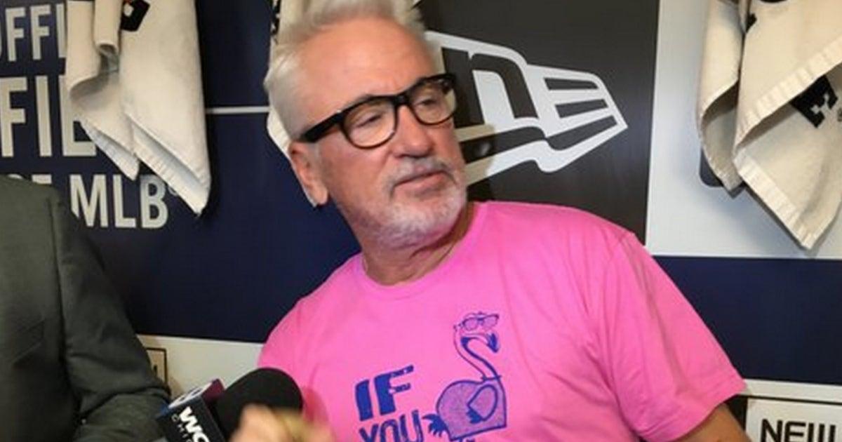 e8d15b83437 Joe Maddon debuts his greatest Cubs-themed shirt yet