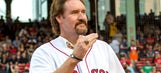 Wade Boggs wears Yankees World Series ring at ceremony at Fenway Park